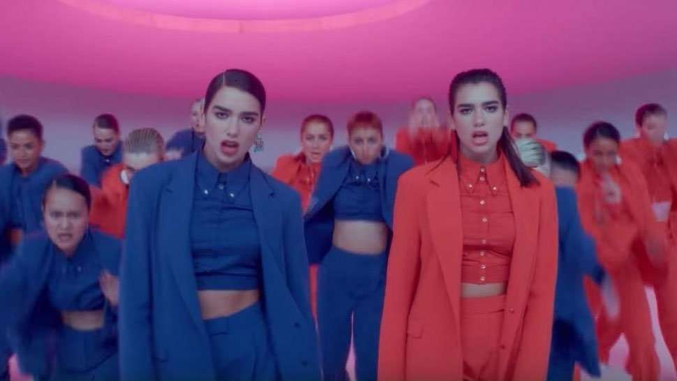 Dua Lipa's IDGAF Music Video Will Make You Want To Wear A Suit