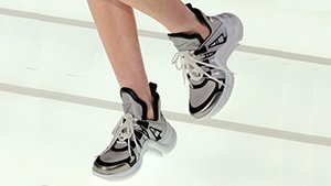 We Can't Wait To Get A Pair Of These On-trend Louis Vuitton Sneakers