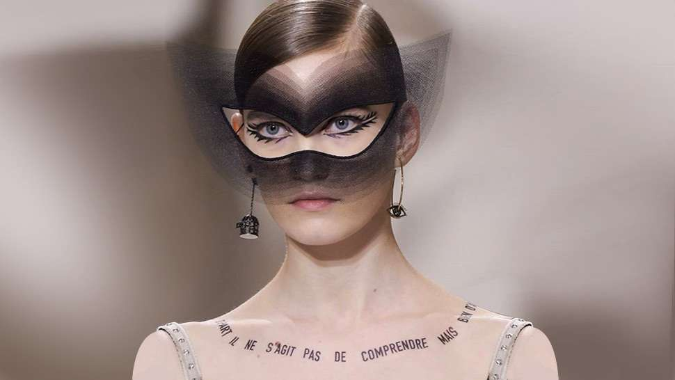 Dior Turns The Slogan Trend Into Haute Couture