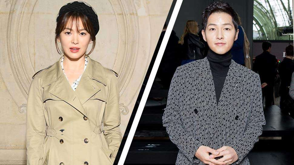 See Song Hye Kyo And Song Joong Ki's Couple Fashion Moment In Dior
