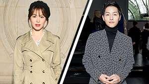 See Song Hye Kyo And Song Joong Ki's Couple Fashion Moment In Dior