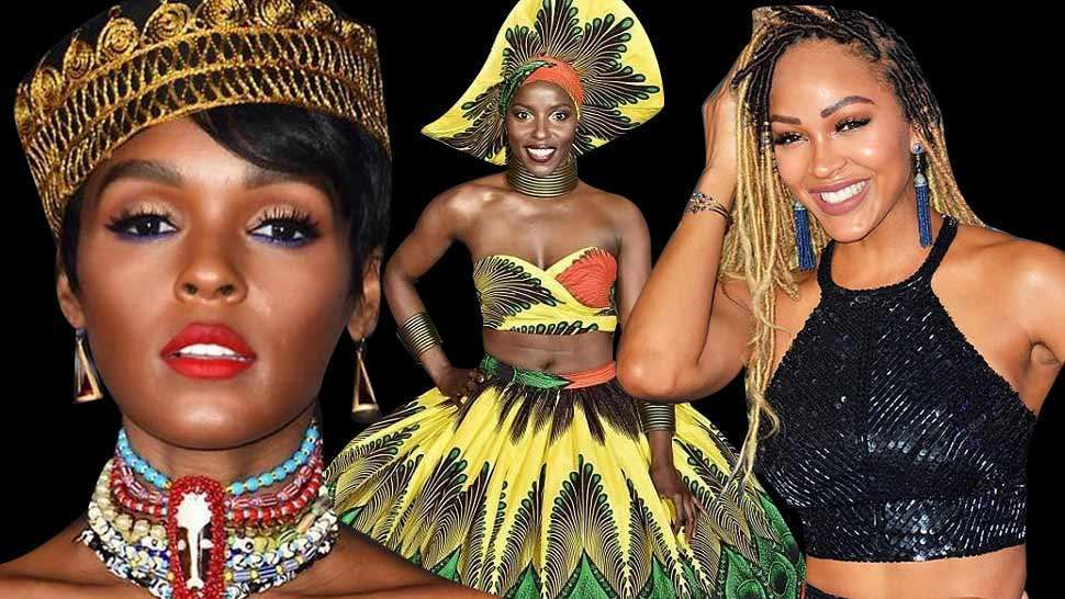 The Best Red Carpet Looks From The Black Panther Premiere