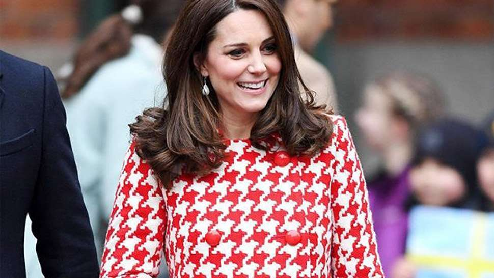 LOTD: Kate Middleton Had a Princess Diana Moment in a Printed Coat