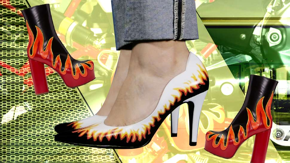 DIY: How to Make Your Own Pair of Statement White Pumps