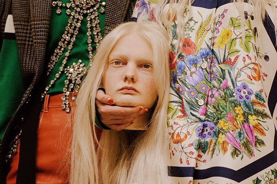 Here's A Closer Look At Gucci's Dragons And Severed Heads