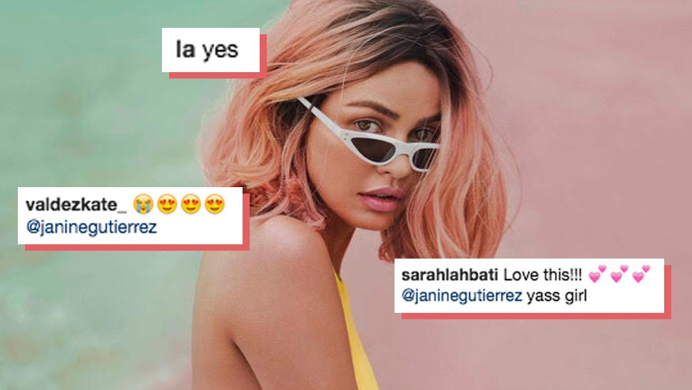 The Best Celebrity Reactions to Janine Gutierrez's March Cover