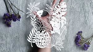 This Chicago-based Filipina Is Turning Paper Into Beautiful Art