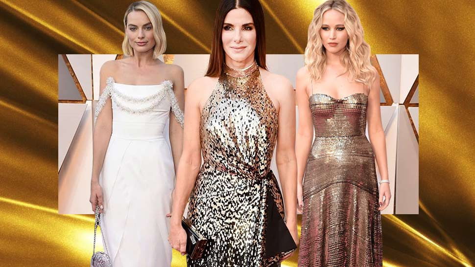 10 Best Dressed Stars At The 2018 Oscars Red Carpet