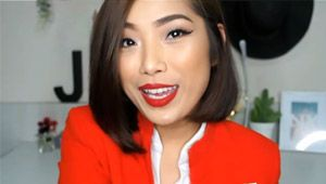 Here's How A Filipino Flight Attendant Keeps Her Face Fresh All Day