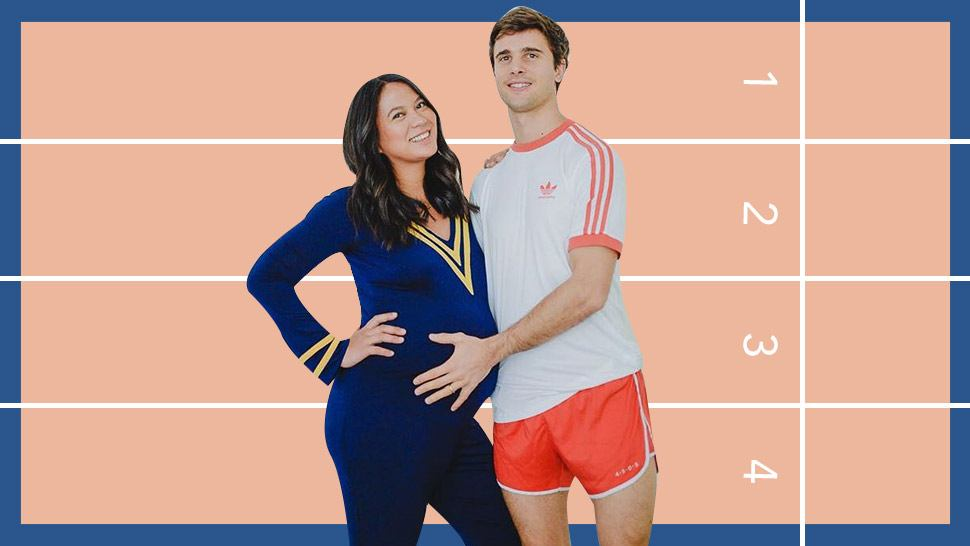 Isabelle Daza Had a Sports Fest-Themed Baby Shower