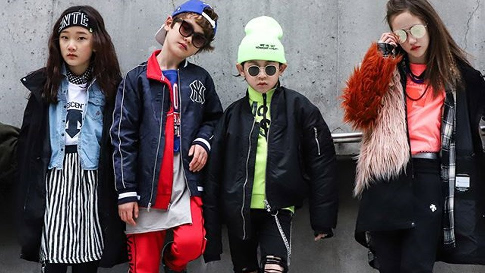 These Pint-Sized Korean Models Are the Real Stars of Seoul Fashion Week