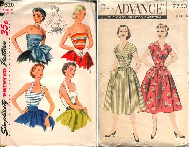 Wiki Has Released 83,500+ Vintage Sewing Patterns Online For Free ...