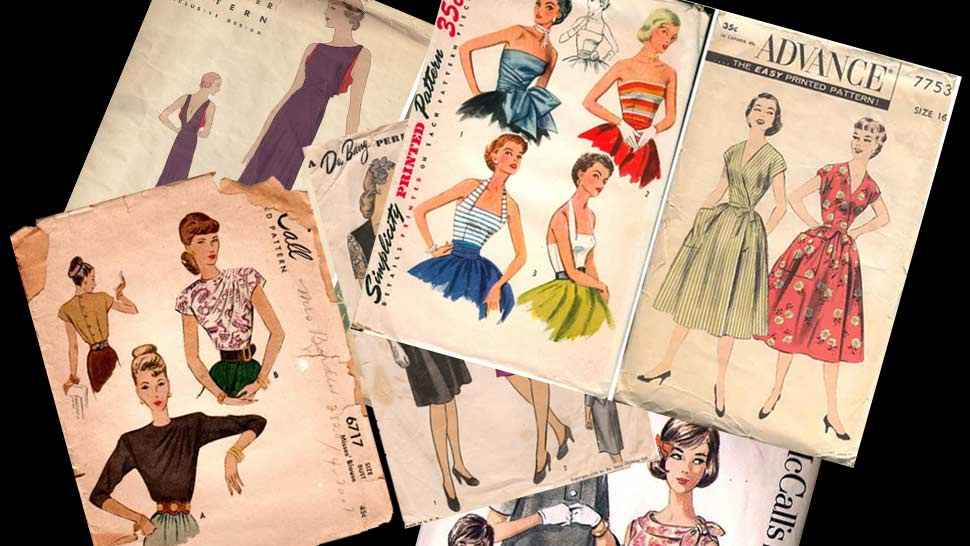 Wiki Has Released 83,500+ Vintage Sewing Patterns Online for Free