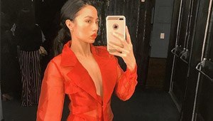 Lotd: Martine Cajucom's Bachelorette Party Outfit Is Red Hot