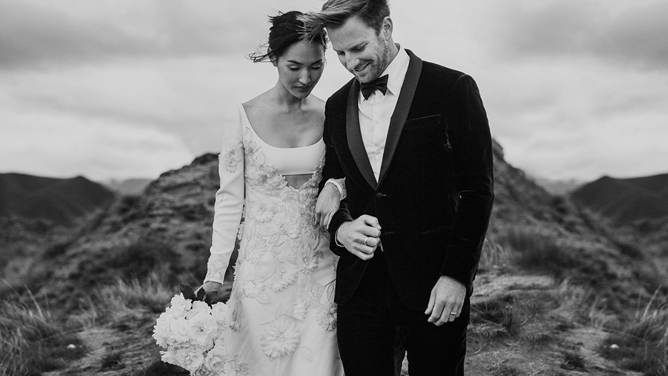 See All The Couture Dresses This Blogger Wore On Her Wedding Day