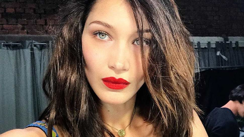 LOTD: This Hairstyle Is Bella Hadid's Secret to Taking Better Selfies