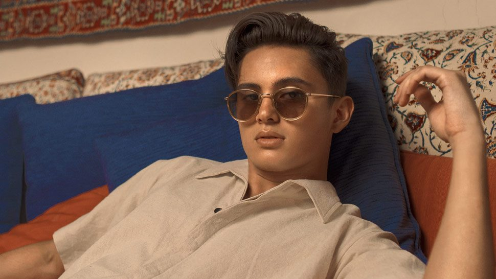 James Reid Is The New Face Of Sunnies Studios