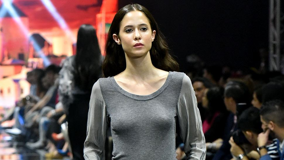 Here's a Cool New Way to Wear a Grey Sweater