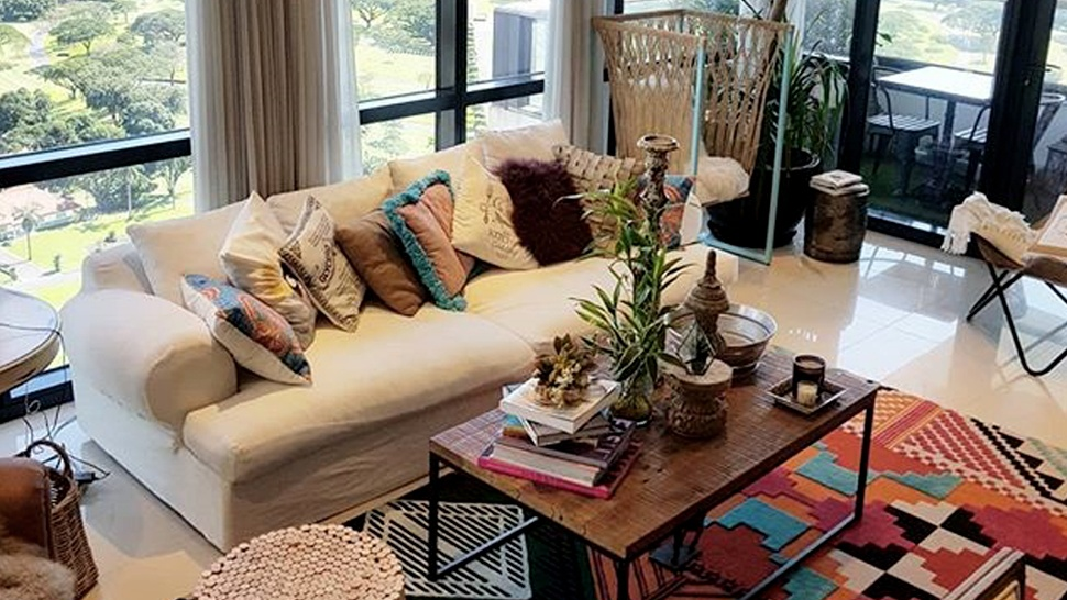 Solenn Heussaff's Living Area Is Perfect for Lazy Afternoons