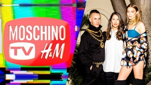 H&m Announces Its Collaboration With Moschino Via Instagram Live