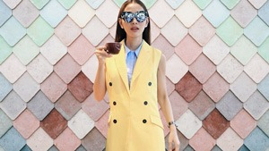 How To Look Chic In Pastel For Your Office Ootd