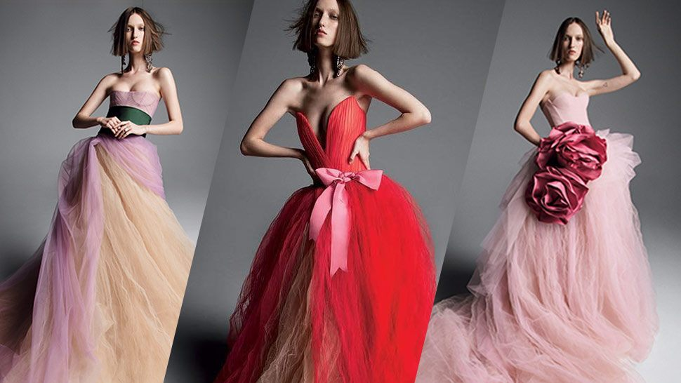 Vera Wang Will Convince You To Wear Color On Your Wedding Day