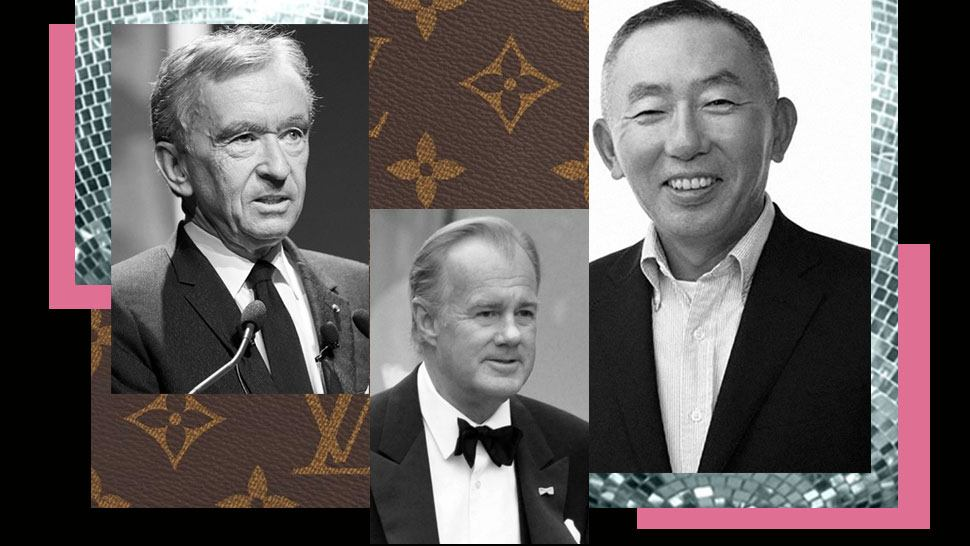 15 of the World's Richest People in Fashion