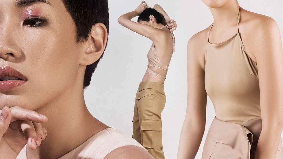 How To Wear Nude From Head To Toe