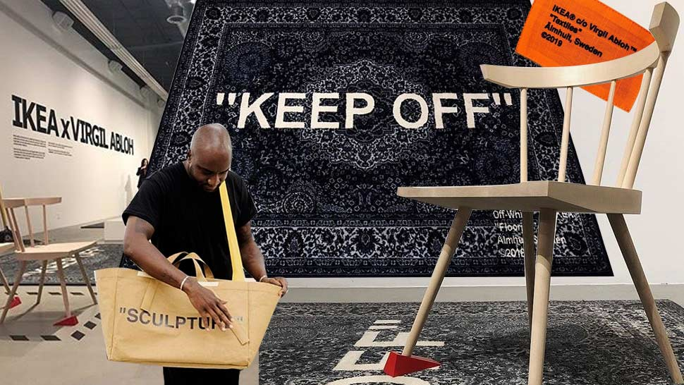 Off-white's Founder Has A Collab With Ikea And We Want Everything