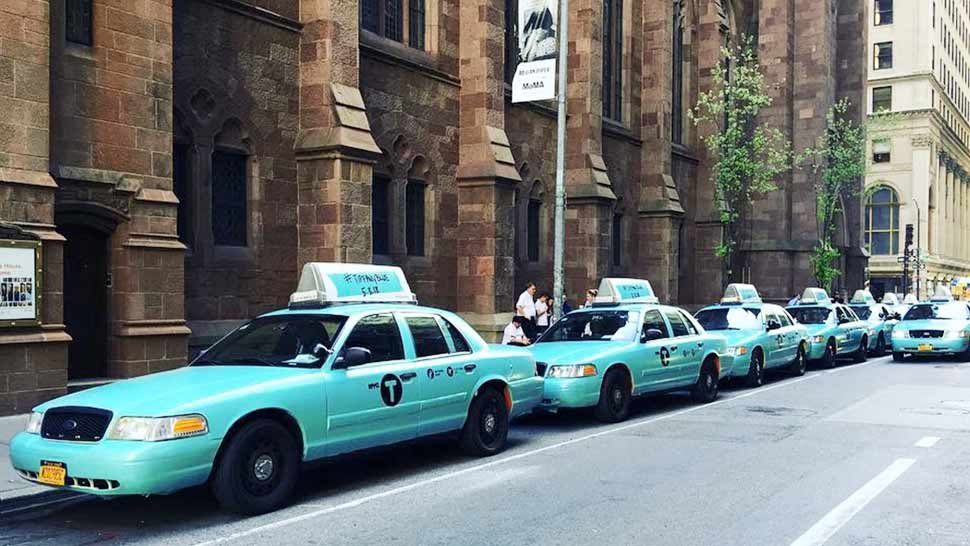 Here's Why Tiffany & Co. Is Painting New York City Blue
