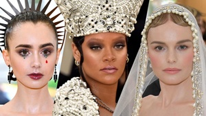 10 Best In-theme Beauty Looks At Met Gala 2018