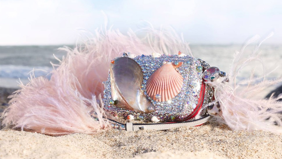 This Christian Louboutin Bag Was Inspired By The Philippine Seas