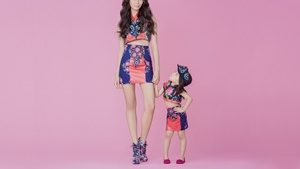 Check Out These Stylish Moms And Their Mini-mes All Dressed Up In Couture