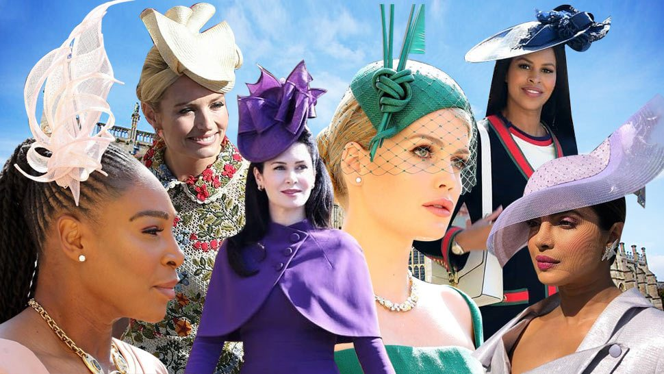 All the Fanciest Hats We Spotted at the Royal Wedding