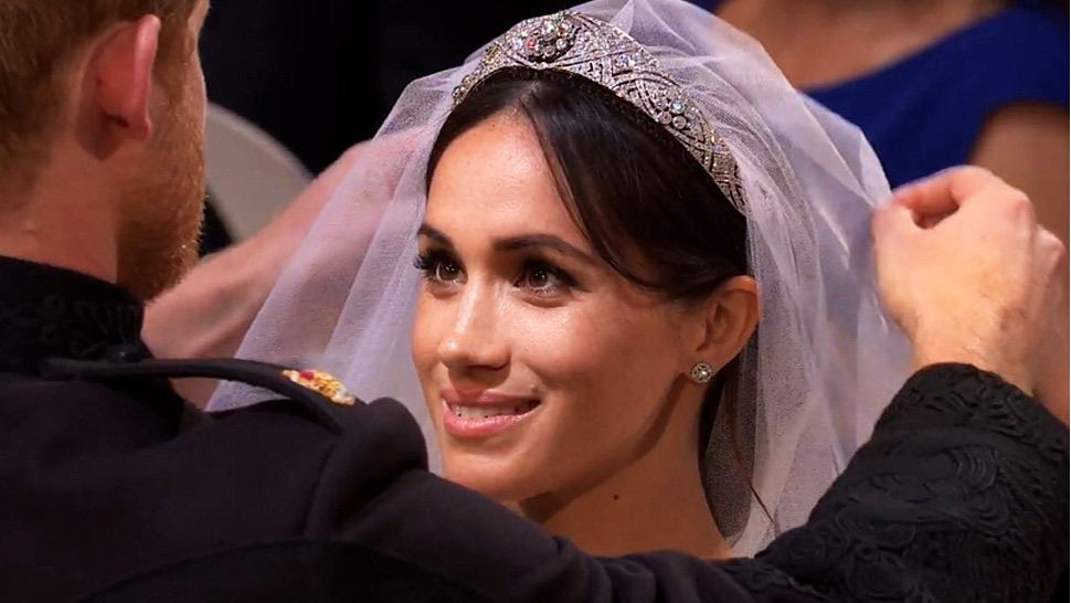 A Brief History Of The Tiara Meghan Markle Wore On Her Wedding Day