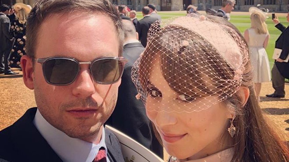 The Cast Of 'suits' Was In Complete Attendance At The Royal Wedding