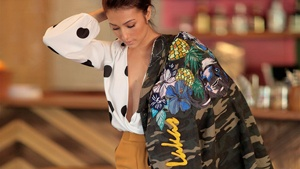Solenn Heussaff Creates Wearable Art For This Local Brand