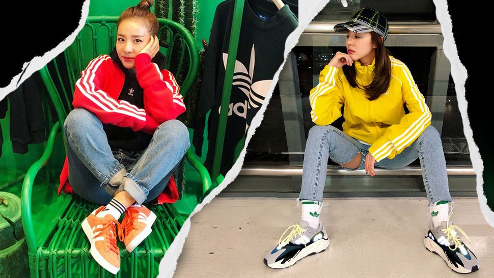 You Have to See Sandara Park's Massive Sneaker Collection