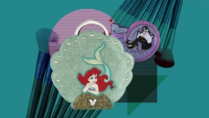 These Little Mermaid Makeup Brushes Are Every Disney Fan's Dream