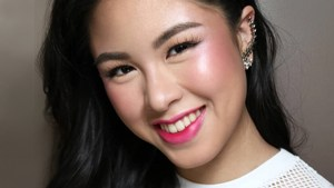 Lotd: Kisses Delavin Just Showed Us A Cute New Way To Apply Blush