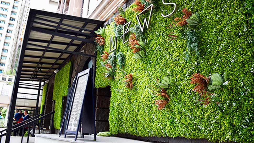 5 Beautiful Vertical Gardens Perfect as Backdrop for Your OOTD