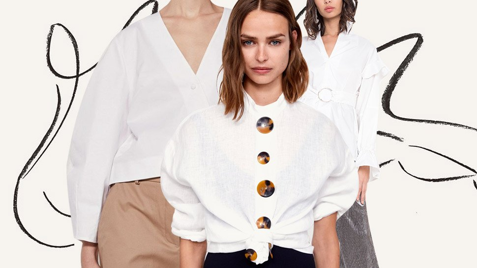 15 White Button-Downs That Are Perfect for Your Office Wardrobe