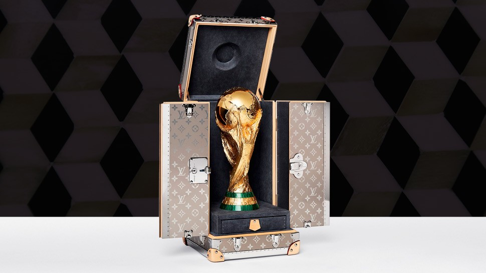 You Have To See The Louis Vuitton World Cup 2018 Trophy Case