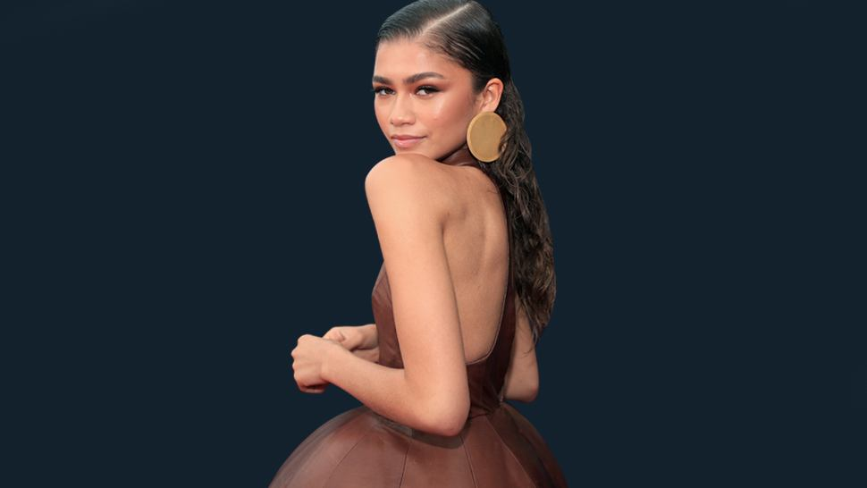 How To Recreate Zendaya's Red Carpet-worthy Beach Waves