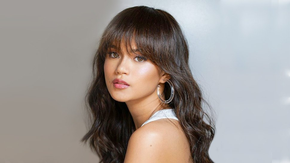 LOTD: We're Loving Maris Racal's Take on the Hoop Earrings Trend