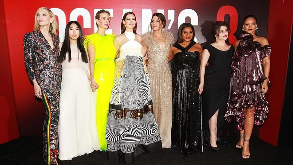 The Ocean's 8 Premiere Was Just As Fashionable As The Movie Itself