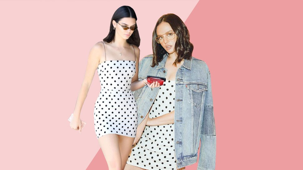 Kendall Jenner And Georgina Wilson Went Twinning In This Polka Dot Dress