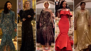 There's A Story Behind The Met Gala Gowns The Stars Wore In Ocean's 8