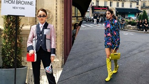 We Can't Get Over Sandara Park's Ootds At Paris Fashion Week