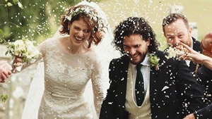 Kit Harrington And Rose Leslie's Wedding Was Practically A Got Reunion
